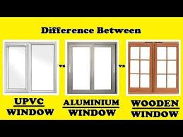 Upvc Vs Aluminium Vs Wooden Windows
