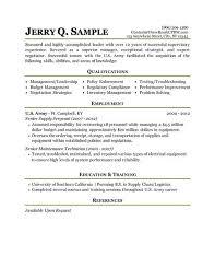 Army Resume Builder 2018 Custom Army Resume Builder Unique Military Civilian Resume Template