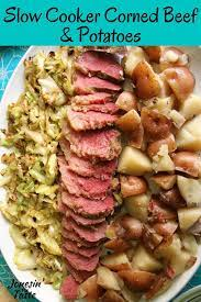 slow cooker corned beef and potatoes