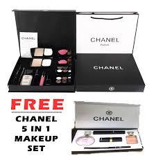 best channel 9 in 1 make up set box paper bag
