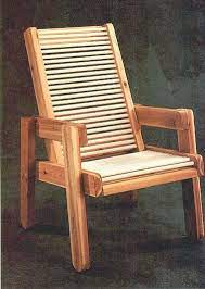 outdoor chairs chair woodworking plans