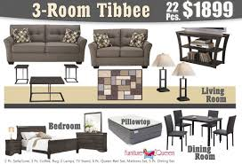 22 pc tibbee grey house package whole house furniture packages u37