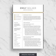What Is Needed For A Modern Resume Modern Resume Template