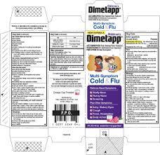 Childrens Dimetapp Multi Symptom Cold And Flu Liquid