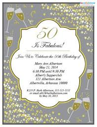 Birthday Party Evites 50th Birthday Party Invitations Lovetoknow