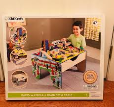 amazing kidkraft ride around town train set with table images best