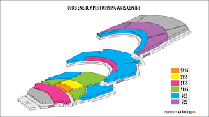 Cobb Energy Center Seating Chart Cobb Energy Performing Arts Centre Seating Chart