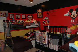 Mickey And Minnie Mouse Bedroom Decor Bedroom Cute Mickey Minnie Mouse Children Bedroom Themes