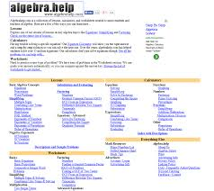 academic websites for students neighborhood tutoring program site url algebrahelp com description algebrahelp is a collection of lessons calculators and worksheets created to assist students and teachers of
