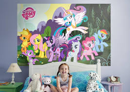 my little pony fathead wall mural