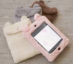 Faux Fur Animal iPad Cases | Pottery Barn Kids