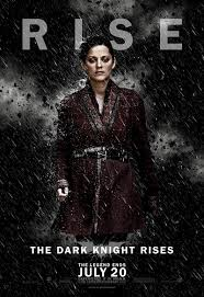 why the dark knight rises fails organization the dark knight rises talia character poster
