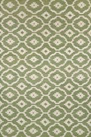 green moroccan hand woven dhurrie