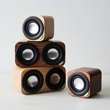 speakers bluetooth. portable wood speakers with bluetooth