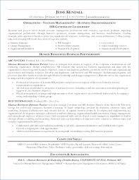 Hr Generalist Resume Format Kantosanpo Com