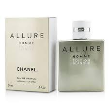 chanel 1 7 oz. allure homme edition blanche eau de parfum spray 50ml/1.7oz chanel 1 7 oz t