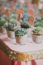 La Quinta Wedding from Fondly Forever Photography. Wedding PlantsPlant  Wedding FavorsSucculent ...
