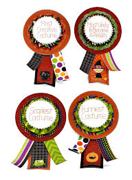 Halloween Costume Awards Halloween Costume Party Ribbons Pazzles Craft Room