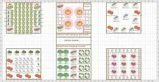 raised bed companion planting layout