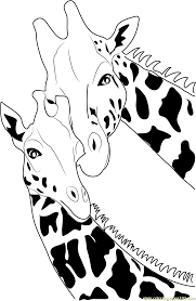 Printable Coloring Pages coloring page giraffe : Giraffe Coloring Page - Free Giraffe Coloring Pages ...