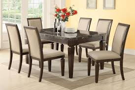 Marble Dining Room Sets Dining Room Table Du Blk W Dining Room Table Marble Dining Room