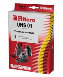 <b>Мешки</b>-<b>пылесборники Filtero UNS 01</b> Standard, 3 шт, бумажные