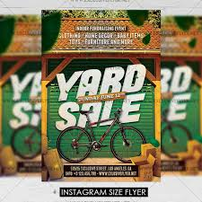 Yard Sale Premium A5 Flyer Template Exclsiveflyer Free And
