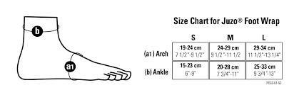 Juzo Size Chart Juzo Compression Wrap Size Chart Best Picture Of Chart