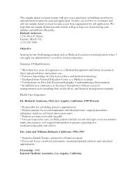 Dental Assistant Resume Objectives Best of Objective For Dental Assistant Resume Dental Assistant Resume
