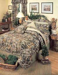 realtree max 4 comforter set camouflage bedding queen luxurious camo bedspread
