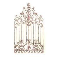 gate wall art decor s on com wrought iron x rectangle grill metal vintage gates heavens