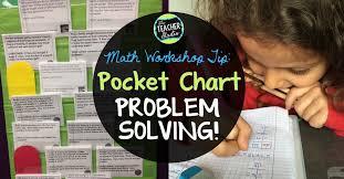 What Is Pocket Chart Bright Ideas Pocket Chart Problem Solving The Teacher Studio