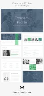 powerpoint company presentation free powerpoint template company profile pitch deck on behance