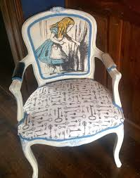 alice in wonderland inspired furniture. Alice In Wonderland Inspired Louis Chair By VintageAuroraRose Furniture