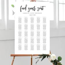 Calligraphy Wedding Seating Chart Seating Chart Lovely Calligraphy Bcc