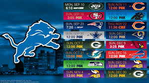 detroit lions 2018 schedule city logo wallpaper free for desktop pc iphone galaxy and andriod printable