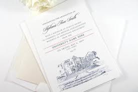Mary Baldwin University Graduation Announcement Grad Virginia University State College Tech Graduation Cards Set Of 25