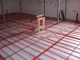 In Slab Radiant Heating Design How To Install Radiant Floor Heating In Basement
