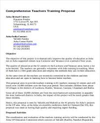 Training Proposal Example Magdalene Project Org