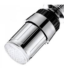 water glow automatic 7 colors changing led light faucet water tap nozzle for kitchen bathroom shower head