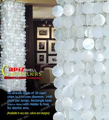 code hlrw with capiz lotus chandelier