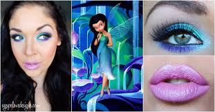 disney fairies inspired makeup series silvermist