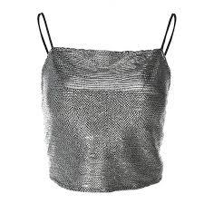 <b>Summer</b> Black <b>Sexy PU Leather</b> Crop Tops Women Boob Tube Top ...