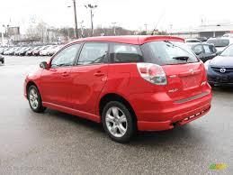 Toyota Matrix 2005 Lovely 2005 Radiant Red toyota Matrix Xr Awd 9 ...