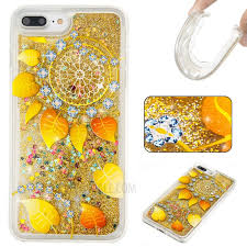 Dream Catcher Case Iphone 7 Plus Fluid Glitter Sequins TPU Case for iPhone 100 Plus Leaves and 80