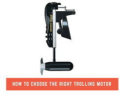 how to choose the right trolling motor png