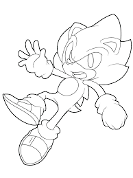 sonic and shadow coloring pages picture super for boys free