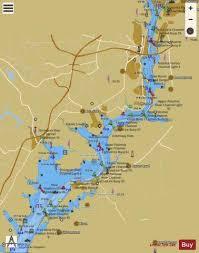 Potomac River Depth Chart Potomac River Occoquan Bay To Alexandria Marine Chart