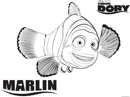 Nemo And Marlin Coloring Page Inspirational 35 Gambar Finding Nemo