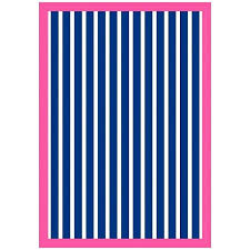 striped outdoor rugs cute hot pink and navy blue striped outdoor rug